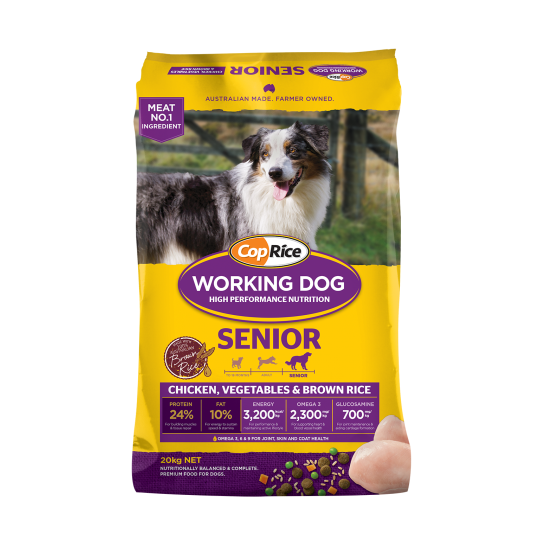 CopRice Working Dog Senior 20kg