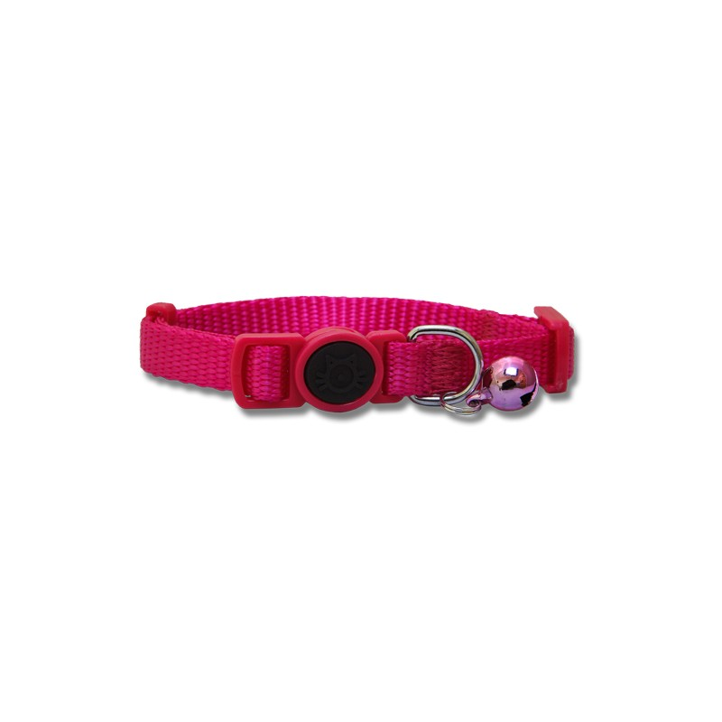 Nylon Cat Collar with Safety Buckle