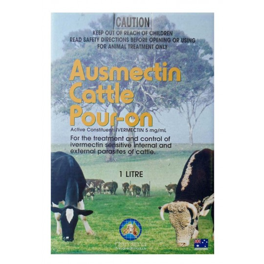 Cattle Wormer Ausmectin Pour On