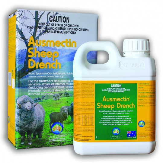 Sheep Drench Ausmectin Pour On