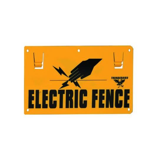 Thunderbird EF15 Electric Fence Sign