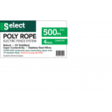 Electric Fence Poly Rope 500m