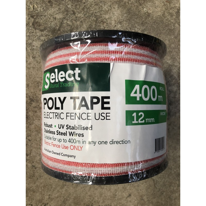 Electric Fence Poly Tape 400m