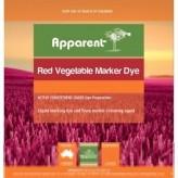 Apparent Red Vegetable Marker