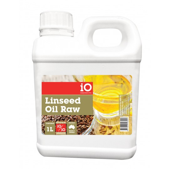 iO Linseed Oil Raw